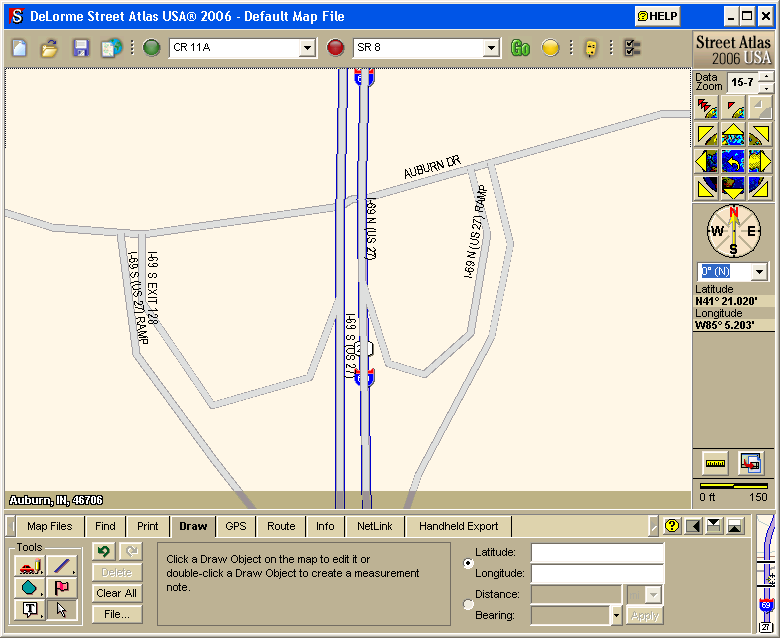 Creating Onramps in Street Atlas with GPSl on